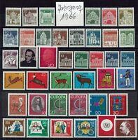 Bundesrepublik Deutschland Jahrgang 1966 Mi. Nr. 489 - 528 postfrisch komplett