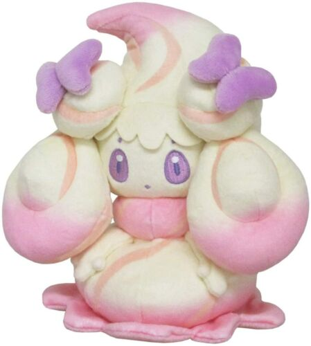 """Presale Alcremie Ruby Mix Ribbon Candy Pokemon ALL STAR COLLECTION 7/"""" Plush Toy"""