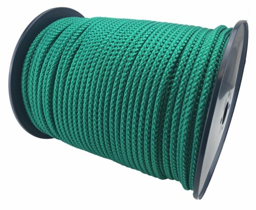 Select Your Lot Length 6mm Green Bondage Rope Soft To Touch Rope