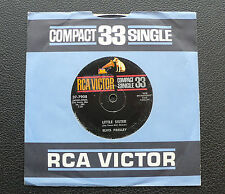 """7"""" Elvis Presley - Little Sister/ His Latest Flame - US RCA 37-7908 Compact 33"""