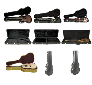 Musician-039-s-Gear-Electric-Guitar-Case-SG-LP-ST-Archtop-Vee-EXP-Acoustic-Tweed-ABS