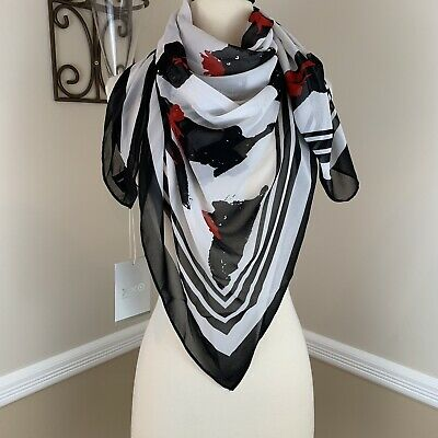 Jason Wu for Target 20th Anniversary Milu Cat Print Women/'s Scarf NWT In Hand