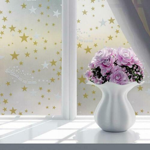 Waterproof Glass Frosted Bathroom window Privacy Self Adhesive Film Sticker PVC
