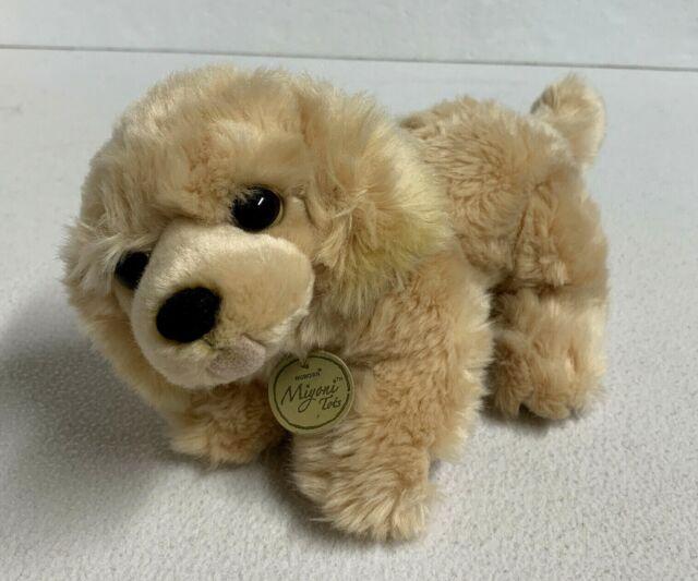 Stuffed Animal 8 Inch Mini Plush Golden Retriever Puppy Dog  Duke