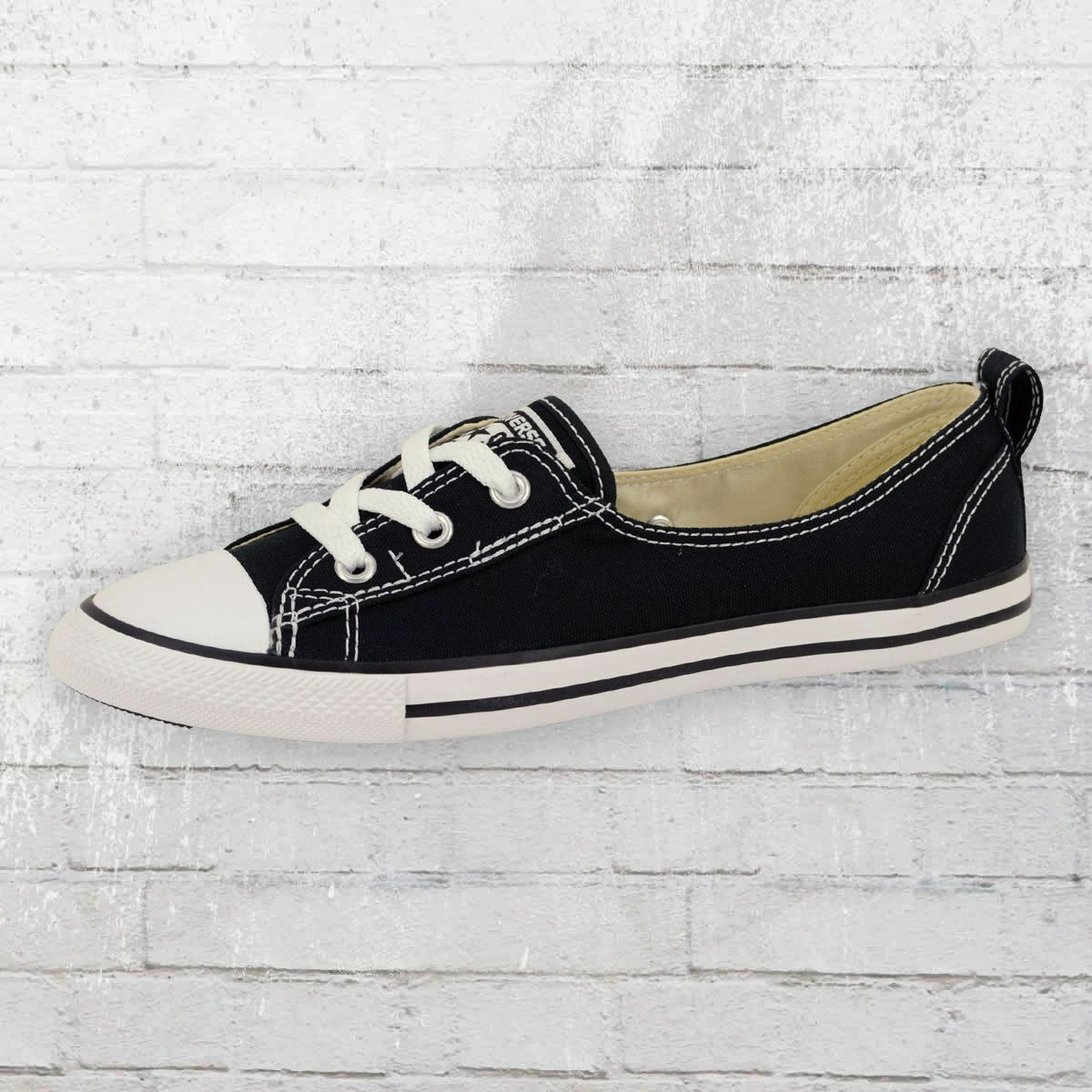 Converse Damen Ballerina CT Ballet Lace 547162 C Schuhe schwarz Frauen Sneaker