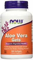 Aloe Vera Gels By Now Foods 10000mg Per Softgel 100 Softgel Capsules Made In Usa