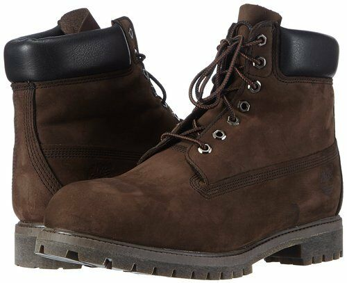 Dark Brown Mens Leather Boots
