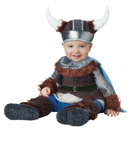 Little Viking Nordic Medieval Infant Baby Costume