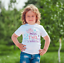 little miss two much baby//toddler child  vest or tshirt 2nd birthday