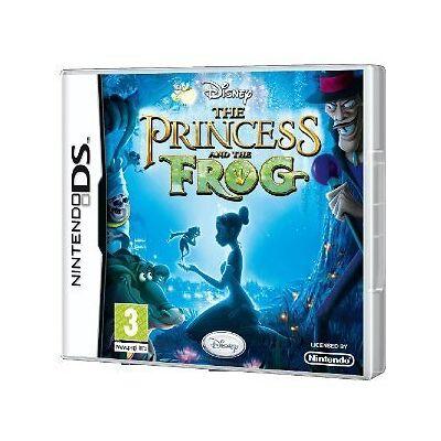 Nintendo DS NDS DSI LITE XL Spiel Disneys Küss Küß den Frosch Walt Disney NEU