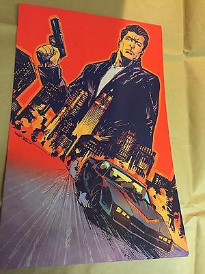 WonderCon 2015 Knight Rider Promo Poster 11x17 Inches on thick mat paper  Rare    eBay