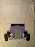Hot Rod Cafe Purple Deuce Coupe 14 X 12 T Shirt Iron On Heat Thermal Transfer