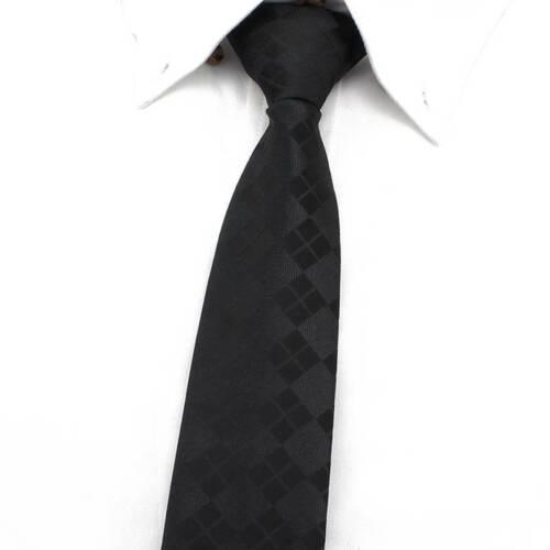 Lazy Men/'s Zipper Striped Necktie Casual Business Slim Thin Zip Up Neck Ties 6CM