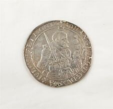1655 German Saxony Thaler Johann Georg I Silver Coin