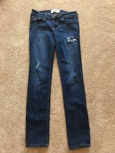 Hollister-Womens-Jeans-7R-Waist-28-Length-33