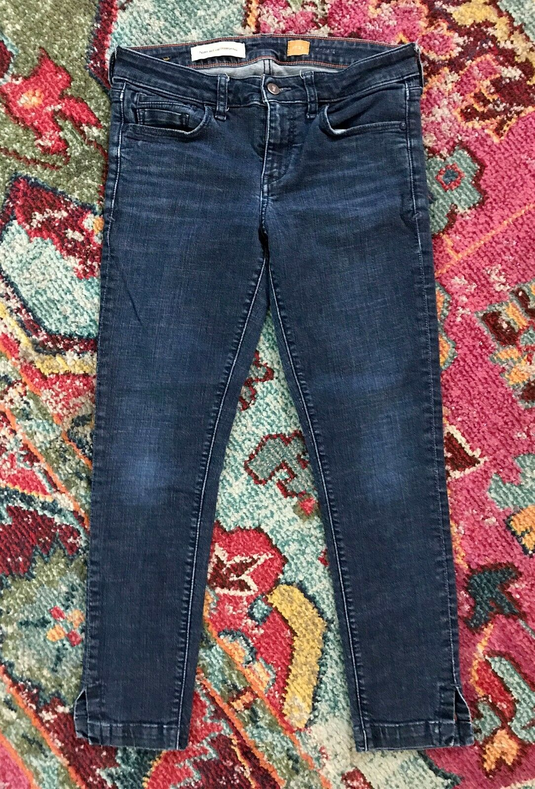 Pilcro and the Letterpress Anthropologie Stet Jeans Size 27