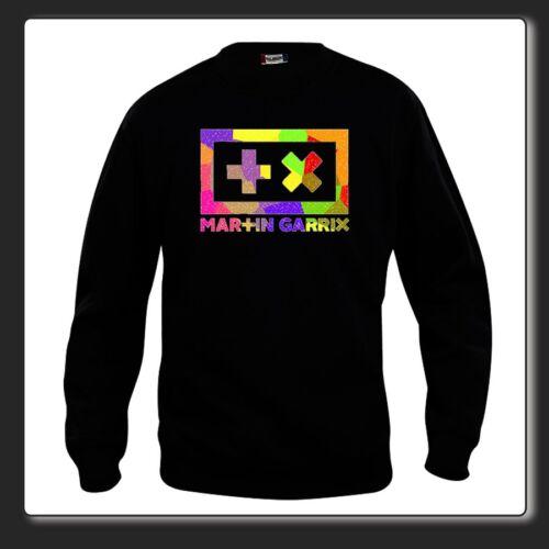 Round-necked sweatshirt Top Dj Martin Garrix Animals colour