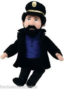 TY BEANIE: CAPTAIN HADDOCK from TIN TIN (Beanie Babies Collection) (New/Tags)