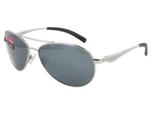 0018868e6da2 Bolle Cassis Sunglasses - 12098 - Shiny Silver Frame w  Polarized ...