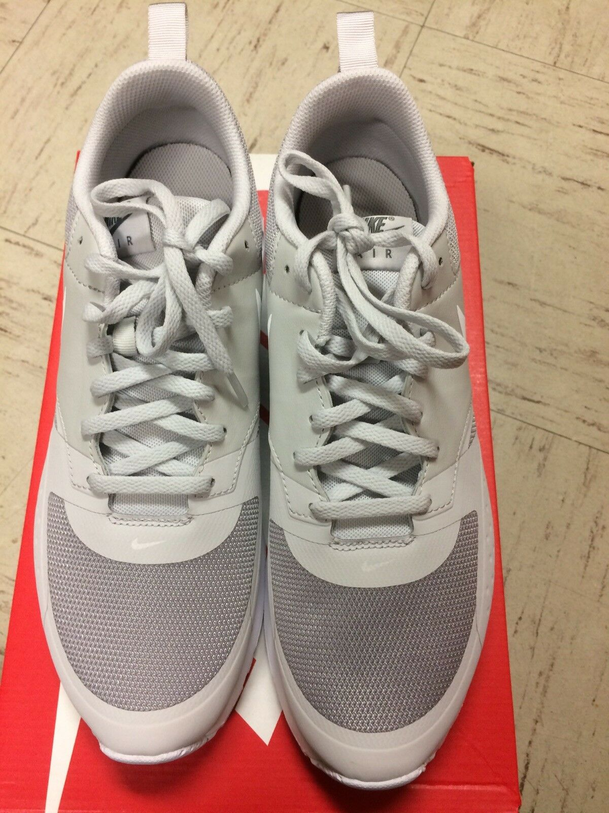 Nike Air Max Vision  Grey White Men's Lifestyle Running shoes NEW  10 sz
