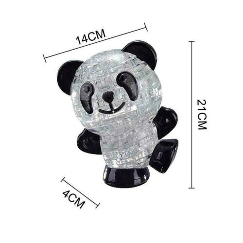 3D Three-Dimensional Crystal Puzzle Animal Puzzle Fun Personalized Toy Z4S2