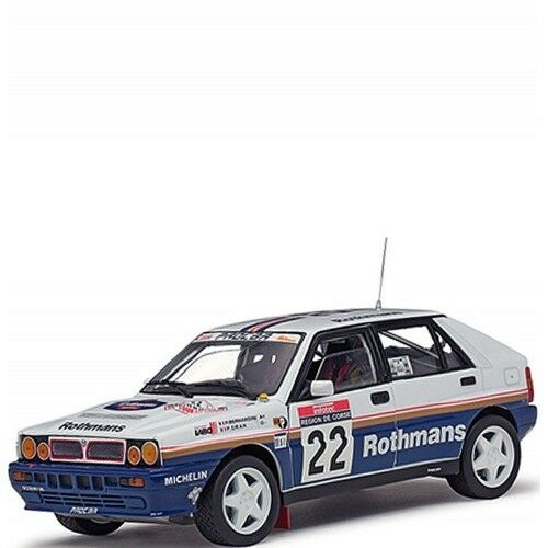 Hot deals 01t model car car scale 1 18 lancia delta hf integrale 22 p. Bernard