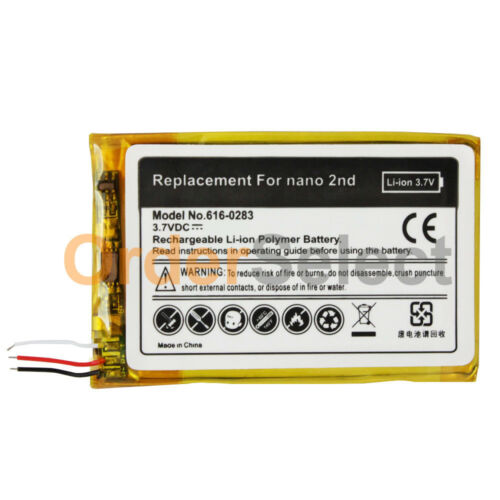 NEW HOT Replacement Battery for Apple iPod Nano 2 2G 2nd Gen Tool Kit 200+SOLD