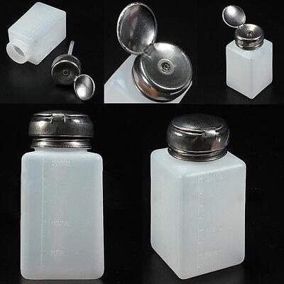 Empty Pump Dispenser For Nail Art Polish Acrylic Liquid Remove 200ML Bottle Tool