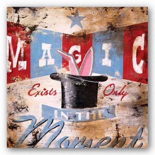 ADVERTISING ART PRINT Magic Moment Rodney White 12x12