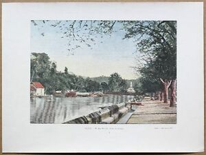 ca-1895-French-photochrom-MADAME-RIVER-FORT-DE-FRANCE-MARTINIQUE-CARIBBEAN