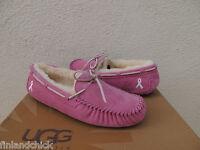 Ugg Dakota Pink Breast Cancer Awareness Moccasin Slippers, Us 7/ Eur 38
