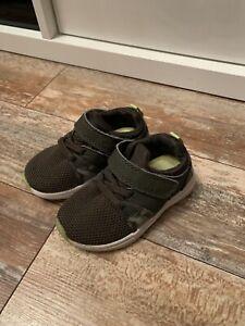 Baby Boy Shoes Trainers Size 5 Khaki