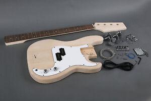 KIT-Montaggio-Completo-GK-SPB-10-BASSO-Elettrico-mod-Fender-PRECISION