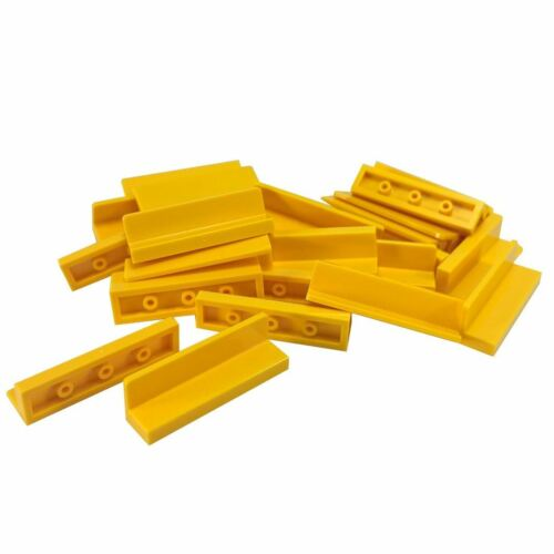 25 NEW LEGO Panel 1 x 4 x 1 yellow
