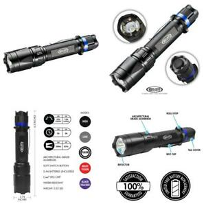 Police-Security-Trac-Tact-2Aa-Flashlight-Cree-Led-280-Lumen-Tactical-Red