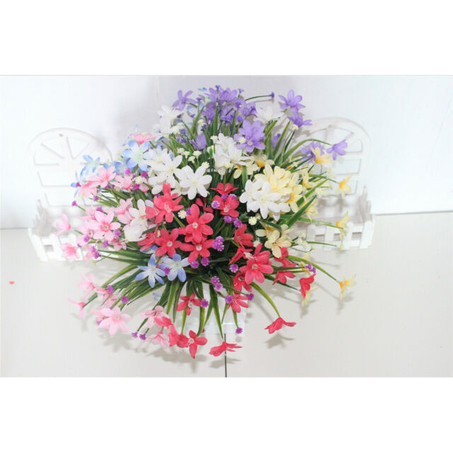 E Hand Daisies Artificial Flowers Outdoor Uv Resistant Daisy Fake Plant Wholesal For Sale Online Ebay