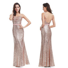 fb0406f5d364 item 5 US Long Sexy Sequins Sleeveless Evening Dresses Prom Gown 07087 Ever- Pretty -US Long Sexy Sequins Sleeveless Evening Dresses Prom Gown 07087 Ever-  ...