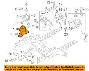image is loading kia-oem-12-13-soul-engine-motor-mount-