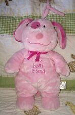Prestige Baby Pink MY BEST FRIEND Puppy Dog Musical Crib Pull Toy Twinkle Twinkl