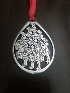 Towle-Silversmiths-Christmas-Ornament-3142-Twelve-Drummers-Drumming