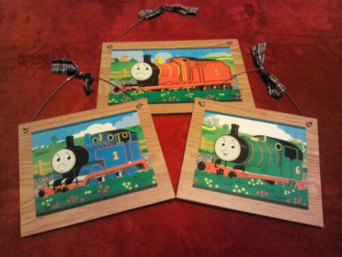 3 STYLES Thomas the Train Pictures Trains Wall Hangings Home Decor