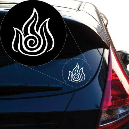 Last Airbender Fire Decal Sticker for Car Window Laptop and More # 936