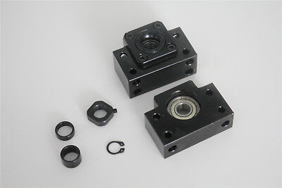 Ball Screw SFU1605 550 End machine with End Support Bearing Mounts BK12//BF12