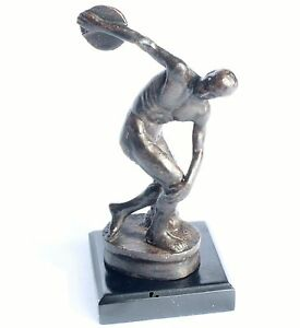 Myron-Der-Diskuswerfer-Bronze-Skulptur-Antike-Figur-Dekoration-Sculpture-Deko