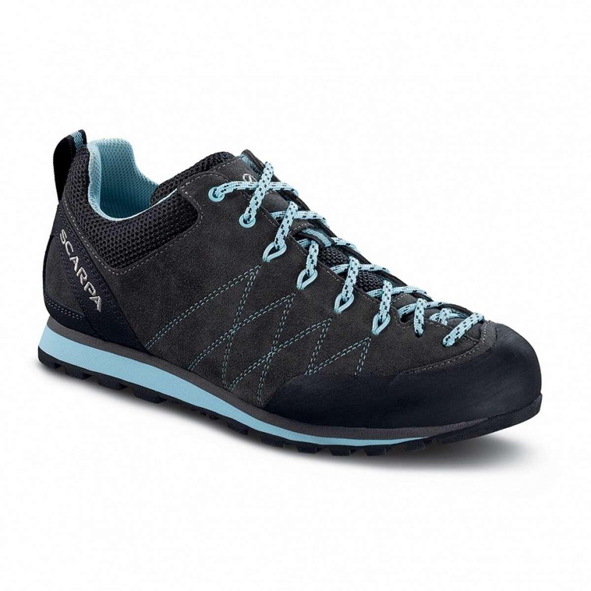 Scarpa Crux Women - Womens suede approach walking shoe - GoreTex