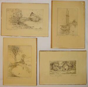 Image Is Loading Vintage Early Texas Artist Jane Langley Personal Orig