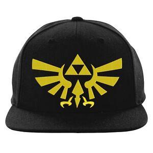 Image is loading Zelda-Triforce-Snapback-Legend-Of-Zelda-Video-Game- 0789758a342