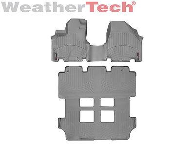 WeatherTech DigitalFit FloorLiner for Honda Odyssey - 2011-2017 - Grey