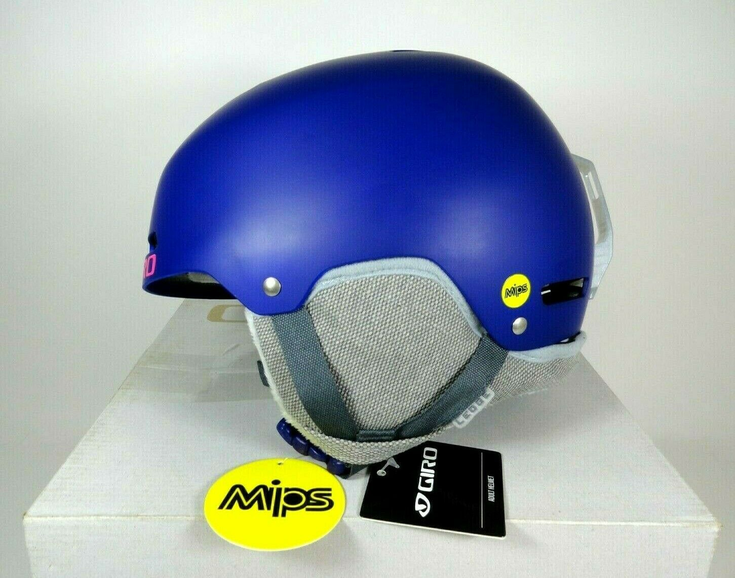 GIRO Ledge MIPS Adult Sz S Small Snow Sports Helmet Matte Purple w box