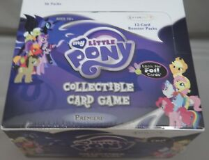 My Little Pony Collectible Card Game Premiere Booster Box 36ct SEALED!!